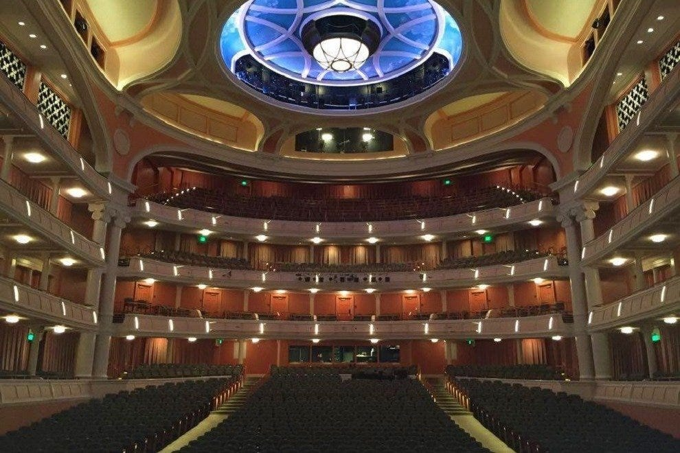 This will be your special perspective from a seat at the Charleston Gaillard Center
