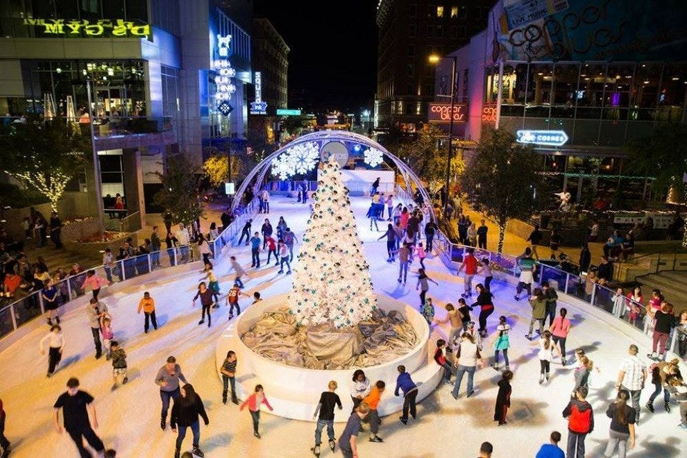 CitySkate Ice Rink at CityScape