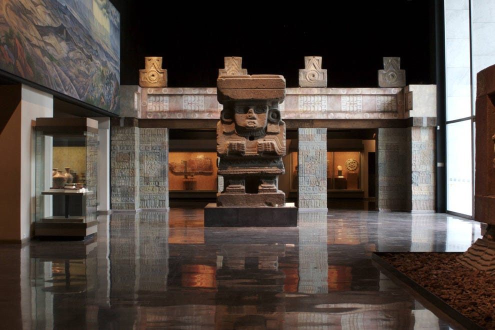 Work your way through Mexico City's history at the National Museum of Anthropology