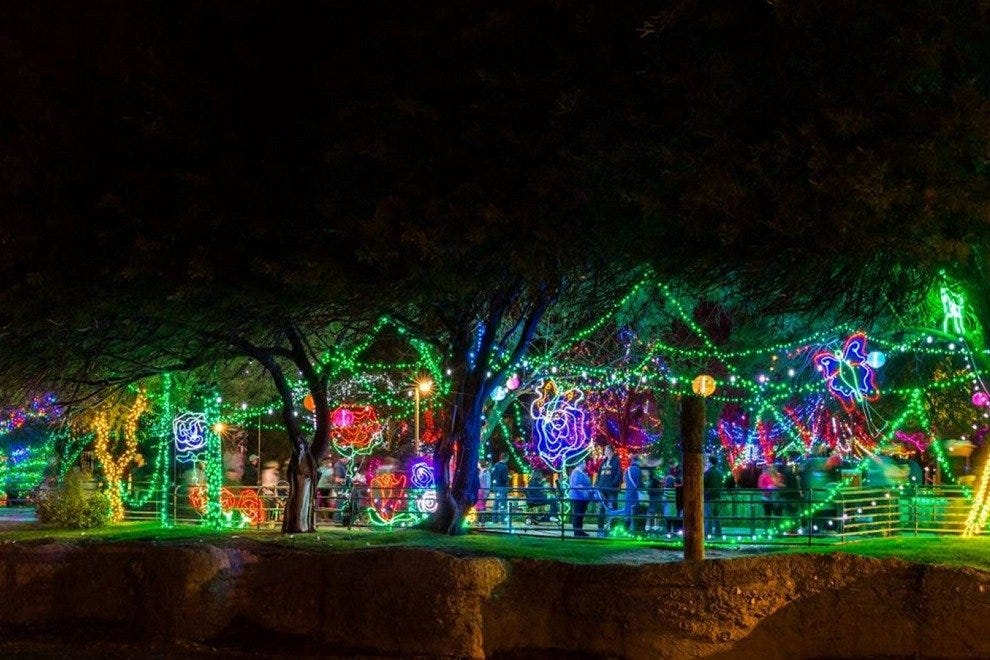 Zoo Lights At Reid Park Zoo