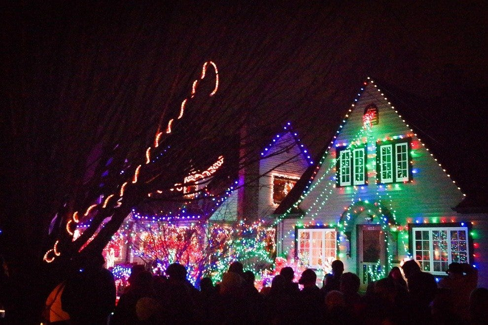 The Lights on Peacock Lane