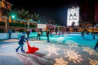 December in Las Vegas is the time for festive & wintry fun