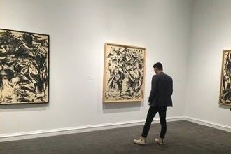 'Jackson Pollock: Blind Spots' Now Showing at the Dallas Museum of Art