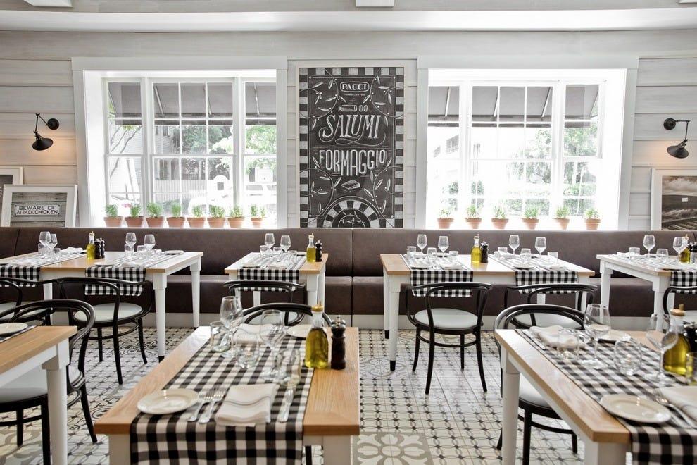 Pacci Italian Kitchen Amp Bar Savannah Restaurants Review