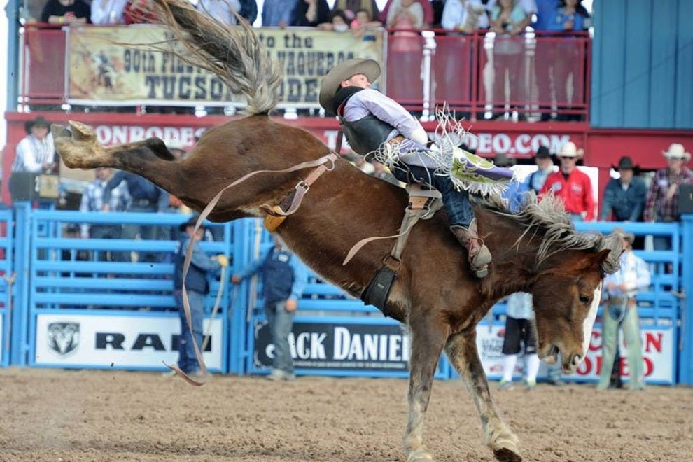 La Fiesta de Los Vaqueros is Tucson's biggest and oldest rodeo event