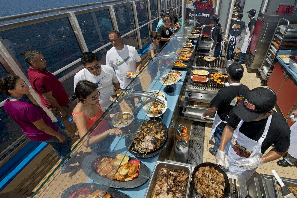 Carnival Breeze: Best Cruise Ship for Dining