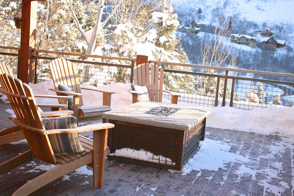 Relaxation at Sundance Mountain Resort