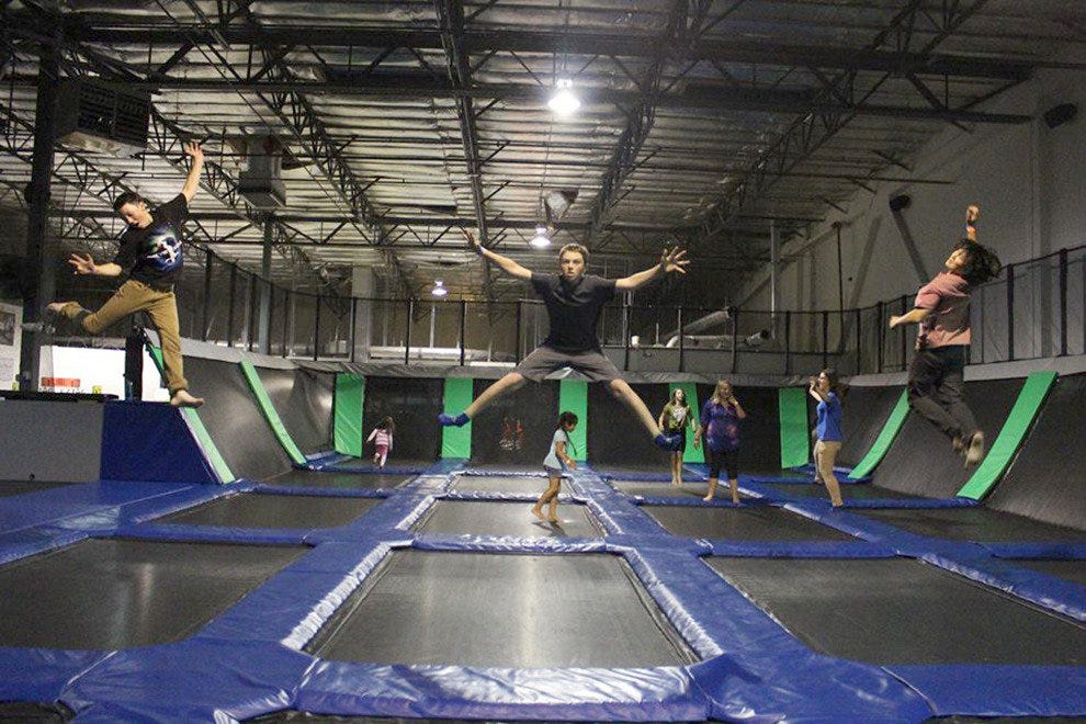 Ezair Trampoline Park Laser Tag Reno Attractions Review 10best