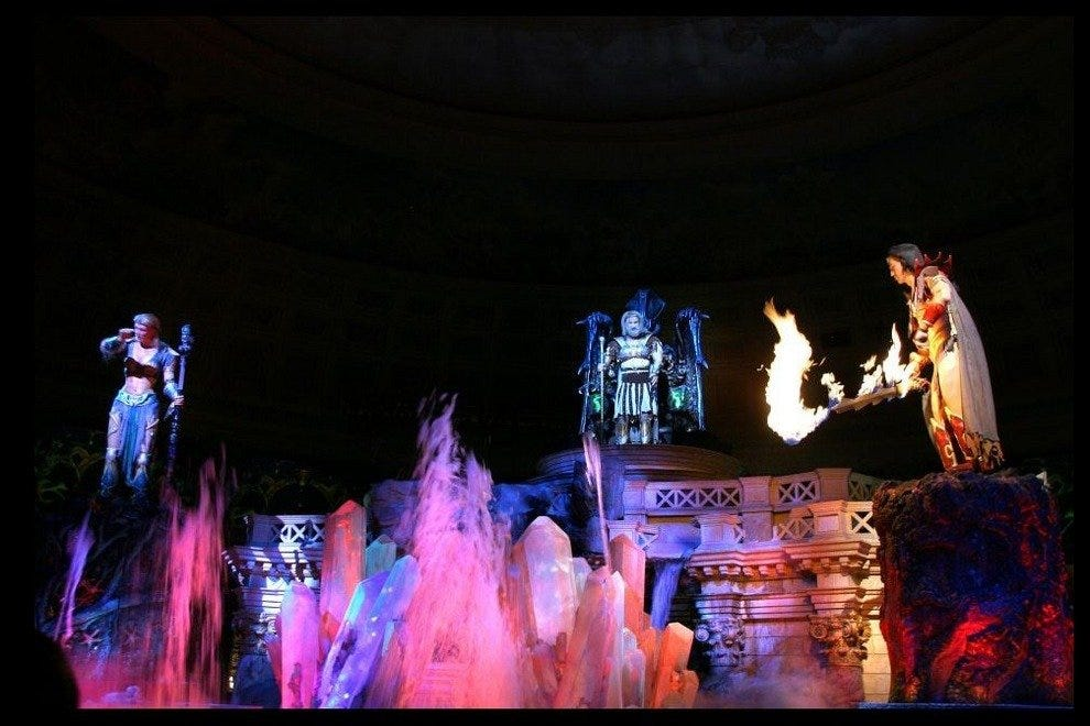 Fall of Atlantis at Caesars Palace Forum Shops
