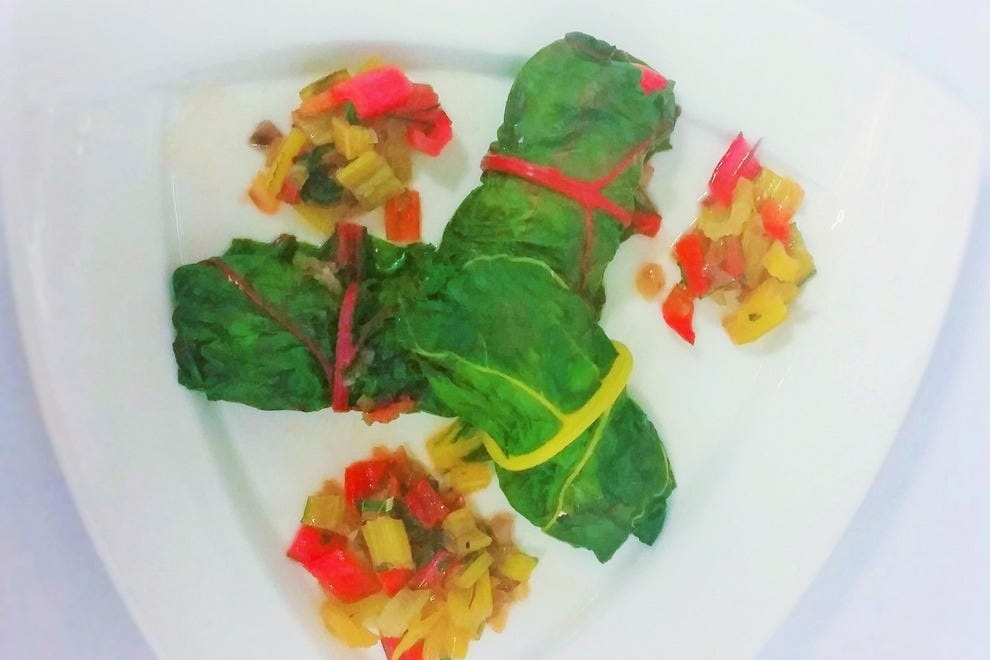 Rich and flavorful, these Swiss chard wraps are a treat disguised as health food. Go ahead and indulge