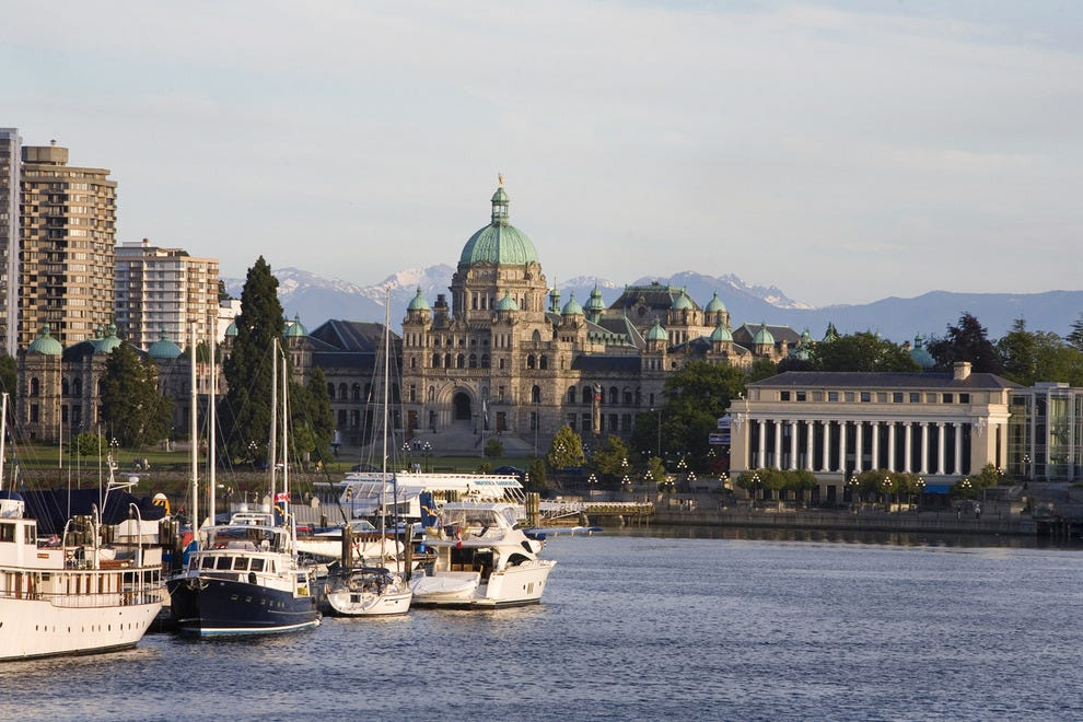 "Victoria's natural setting ""wows"" at any time of year"