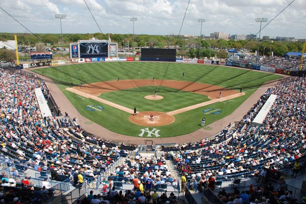 Steinbrenner Field is a state-of-the-art facility with great sight lines