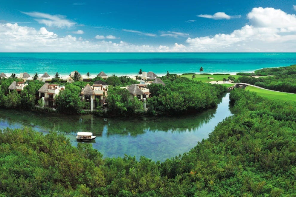 Lagoon View at Fairmont Mayakoba