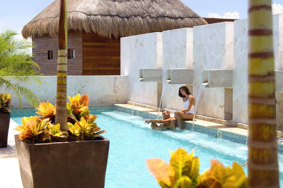 Fairmont Mayakoba Rooftop Spa Pool
