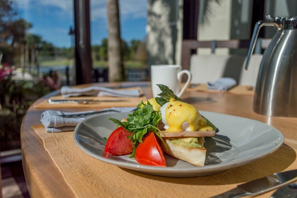 Fuel the day: the LakeHouse Benedict