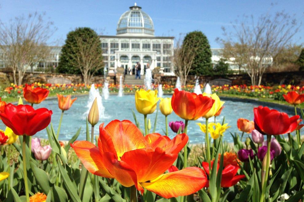 Lewis Ginter Botanical Garden Richmond, Va.