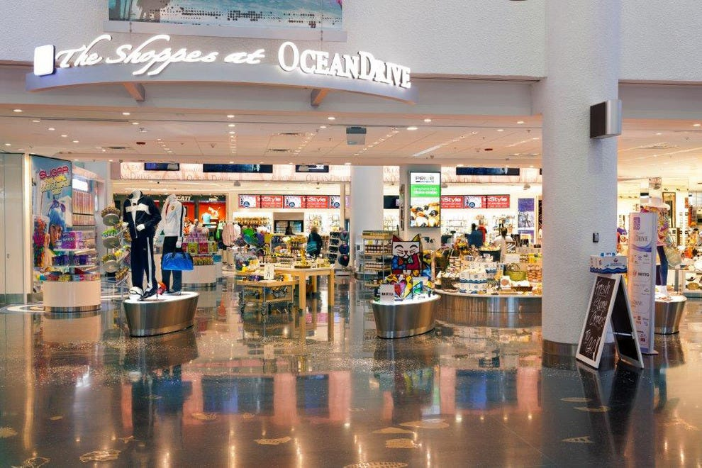 According to 10Best readers, Miami International Airport has the best shopping.