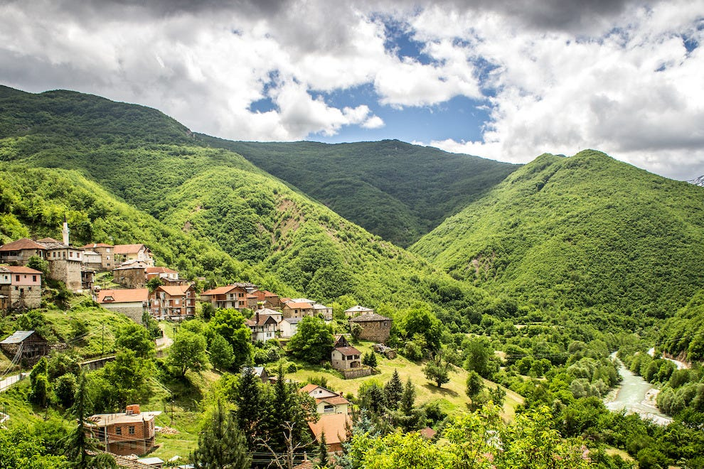 Stay with local villagers while trekking through Macedonia's Mavrovo National Park