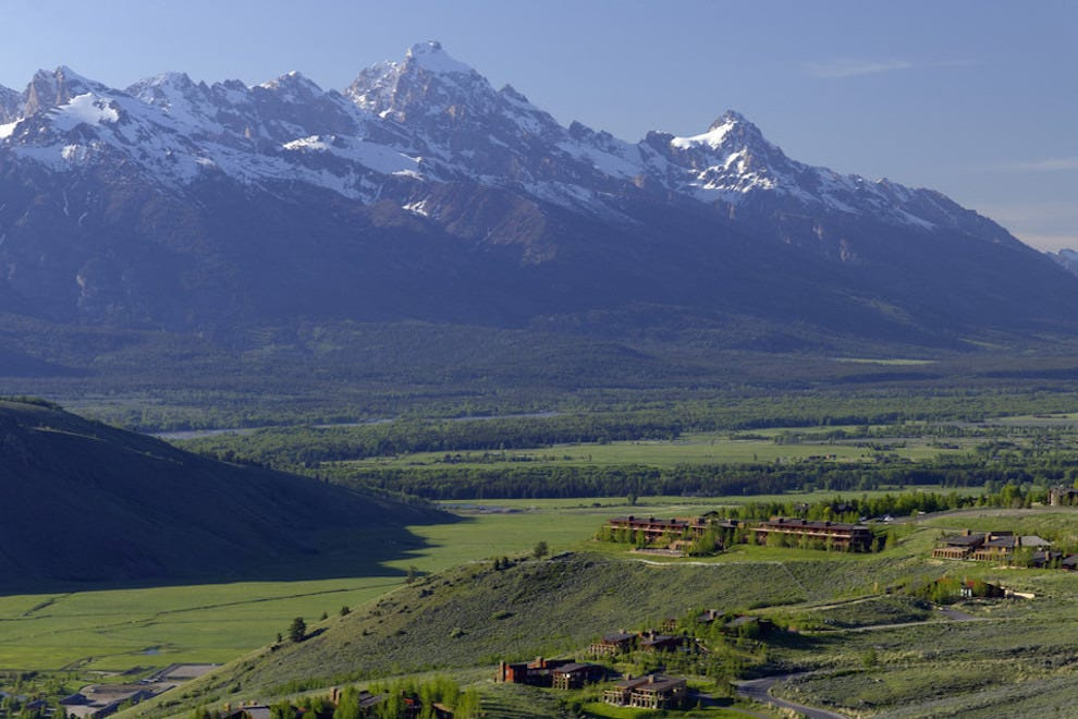 Amangani, Tetons and Prairies