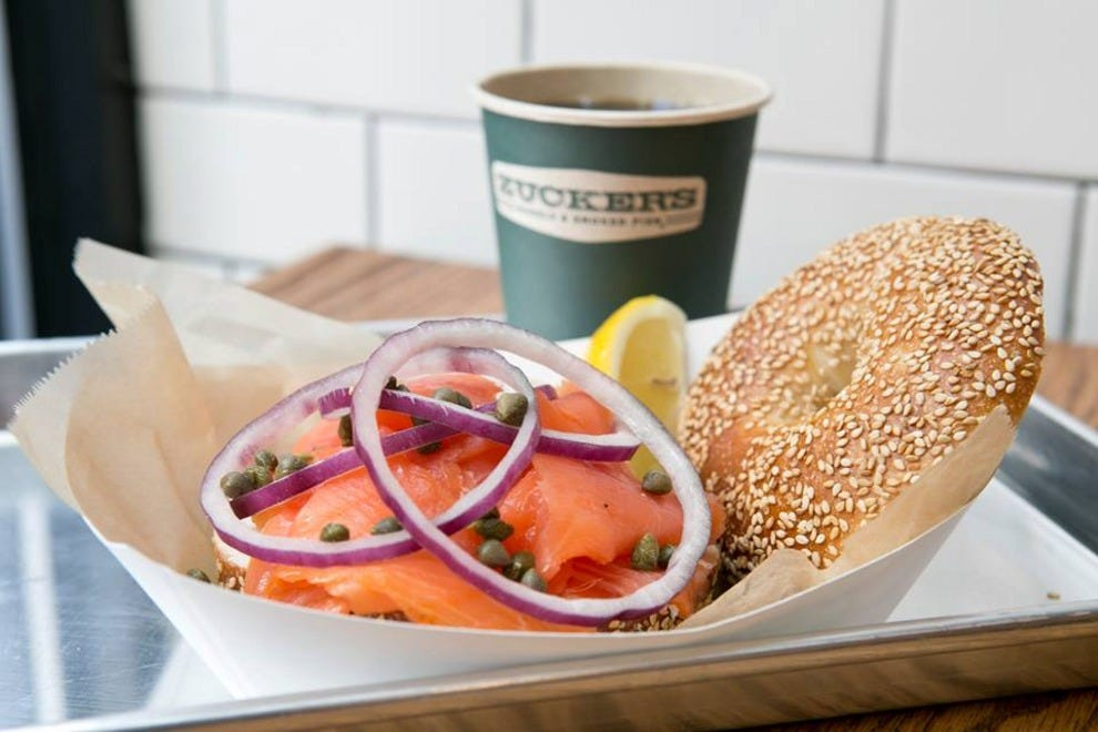 New York - Zucker's Bagels and Smoked Fish