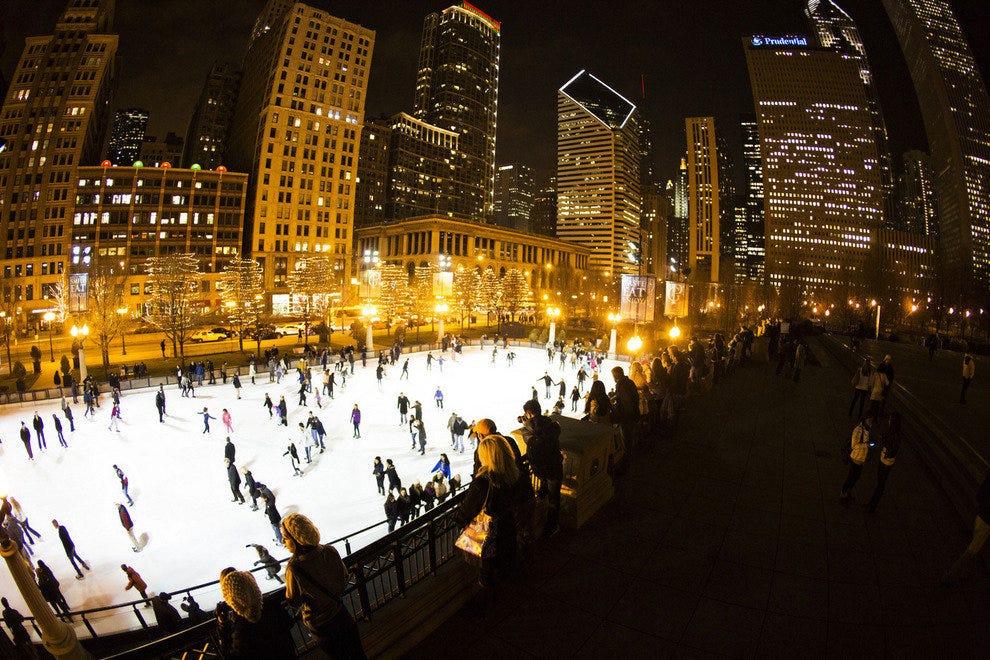 Christmas Light Show Chicago