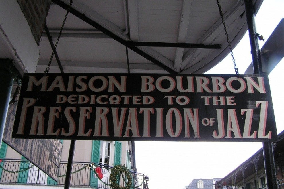 Maison Bourbon Jazz Club