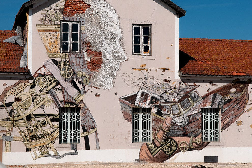 The Real Lisbon Street Art Tour