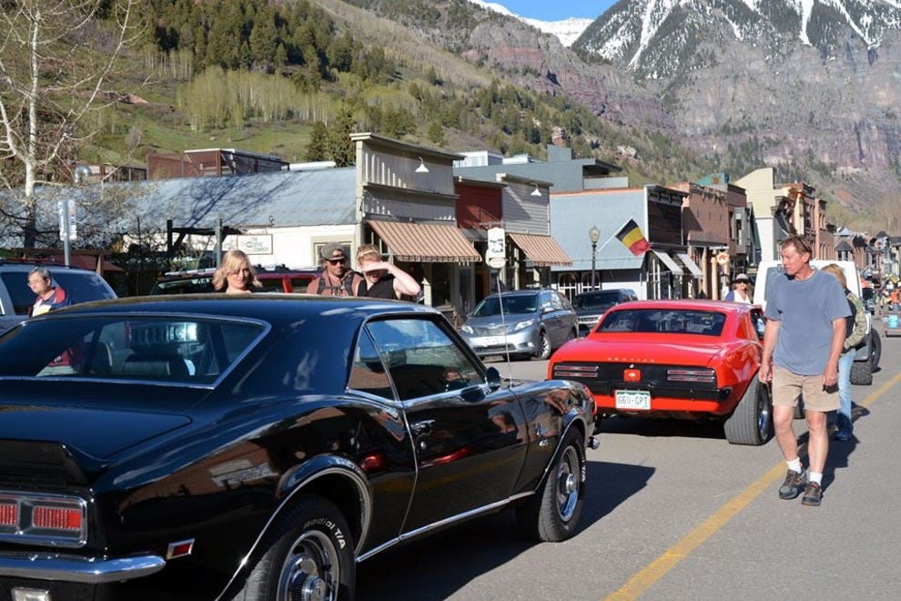Telluride Festival of Cars and Colors