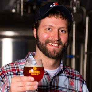 Neil Fisher, Brewmaster/Owner of WeldWerks Brewing