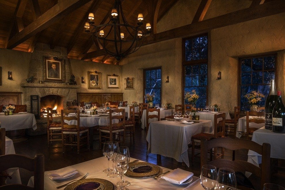 destinations california santa barbara restaurants romantic dining