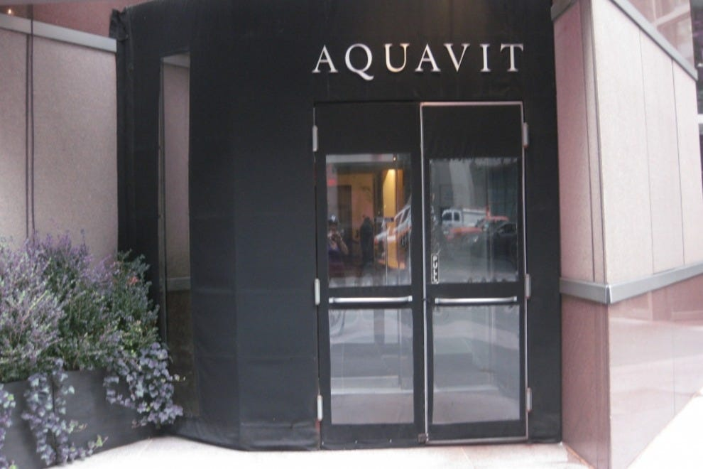 New york seafood restaurants 10best restaurant reviews for Aquavit new scandinavian cuisine