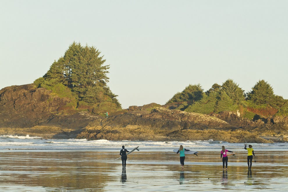The Queen of the Peak Women's Surf Competition comes to Tofino again this fall