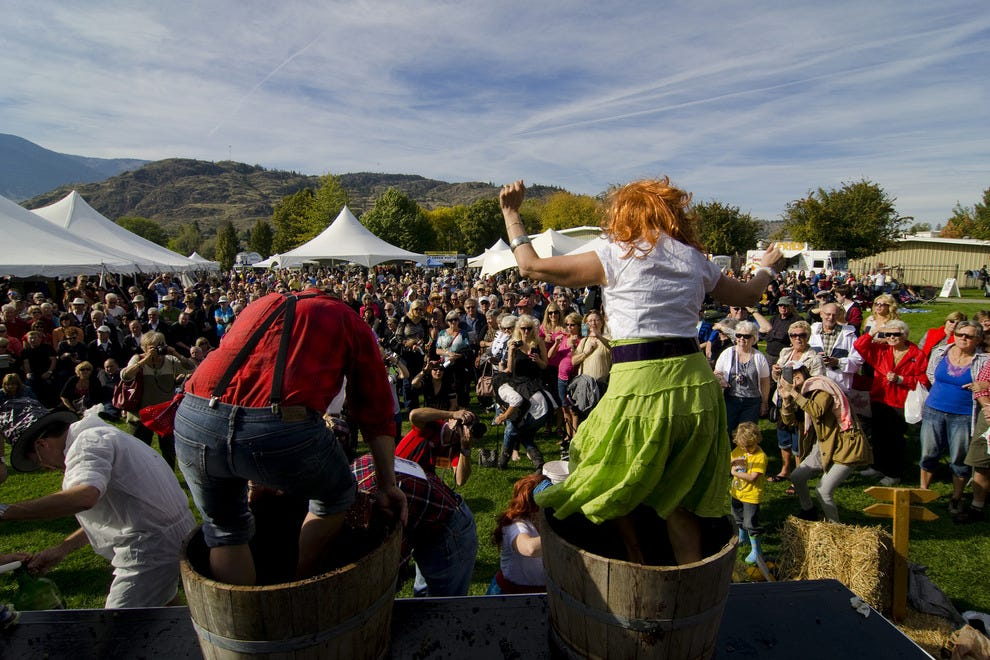 The Festival of the Grape welcomes stomping revelers getting in the spirit