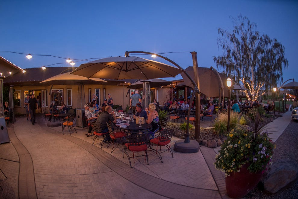On the patio of J. Bookwalter, the Tri-Cities celebrates its finest varietals