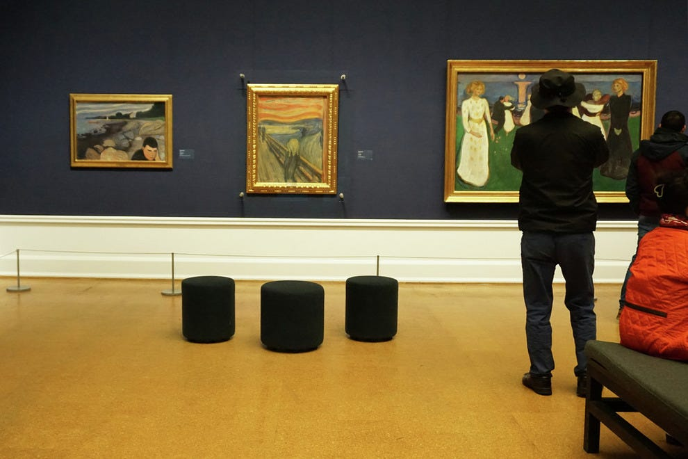 Art lovers relish the Munch room in the National Gallery