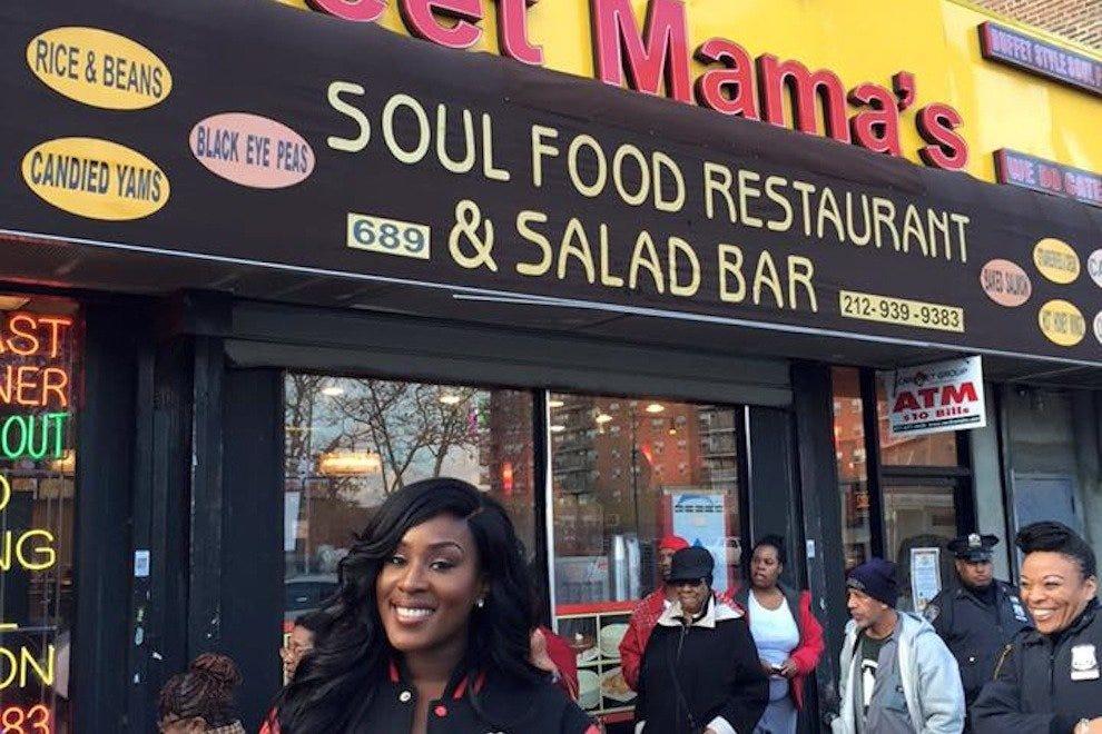 甜妈妈的灵魂餐厅和沙拉吧
