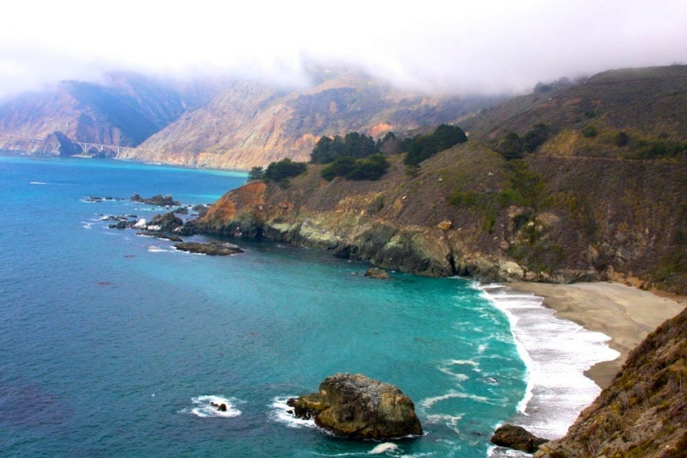 "The classic drive along California Highway One is a spectacular route with innumerable ""must stops"" such as Carmel"