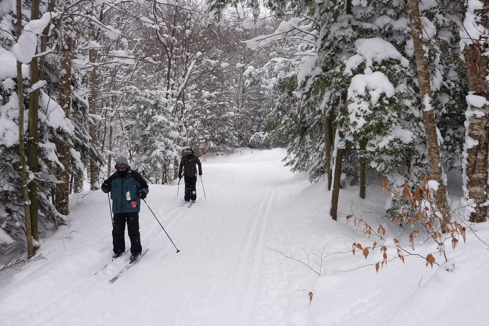 Best cross country ski resort winners 2016 10best readers choice white grass ski touring center davis wv sciox Image collections