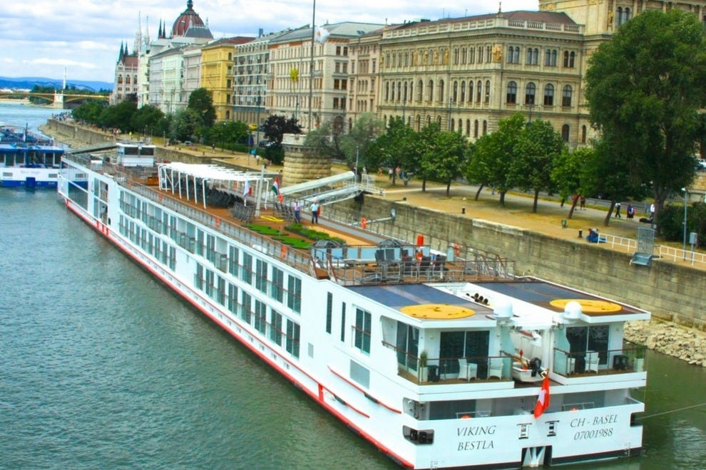 River cruises nestle close to shore, making hopping on and off easy – a plus for catching all that's in Budapest