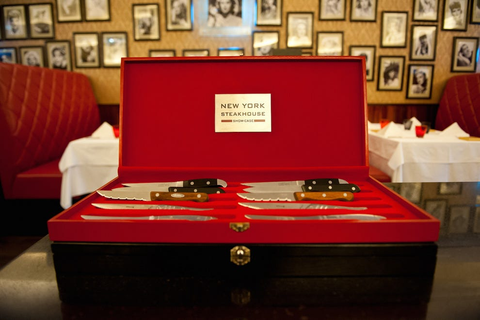 The Knife Box at New York Steakhouse