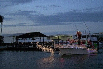 Christmas Boat Parade on Naples Bay