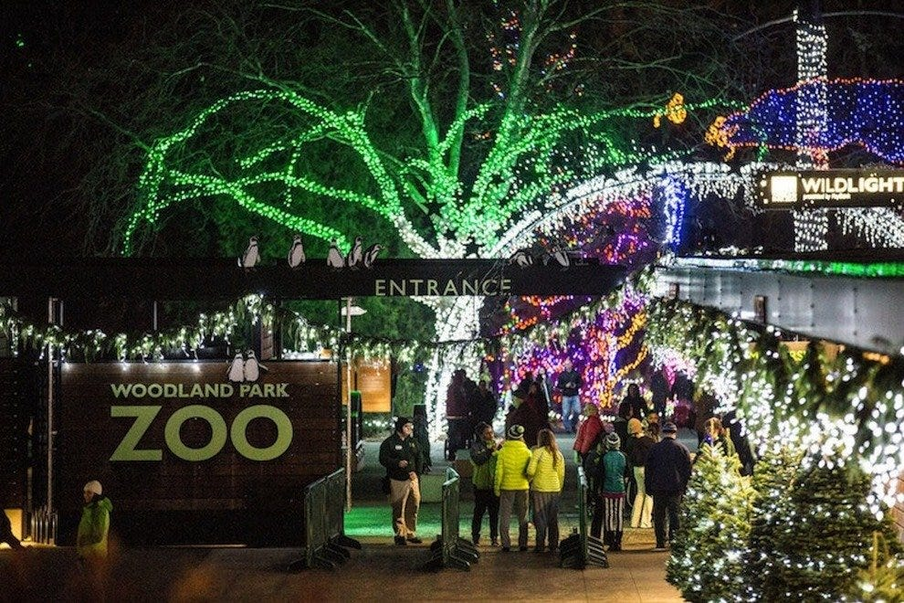 woodland park zoo - Christmas Activities In Seattle