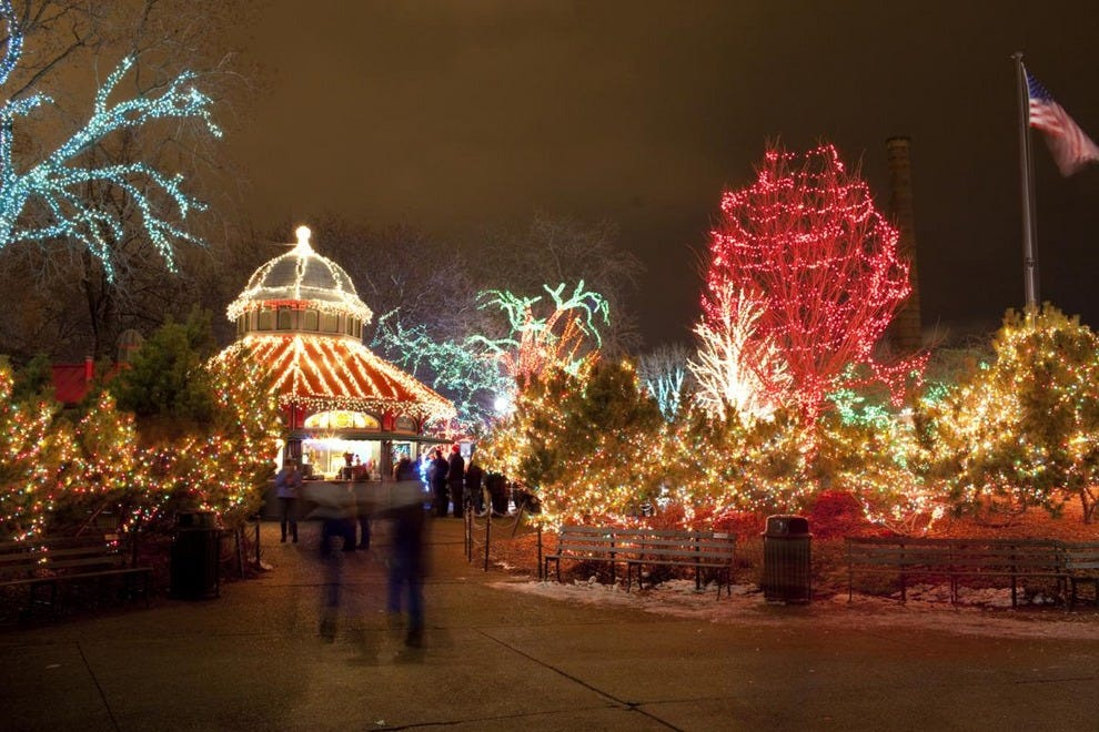 ZooLights At The Lincoln Park Zoo Chicago