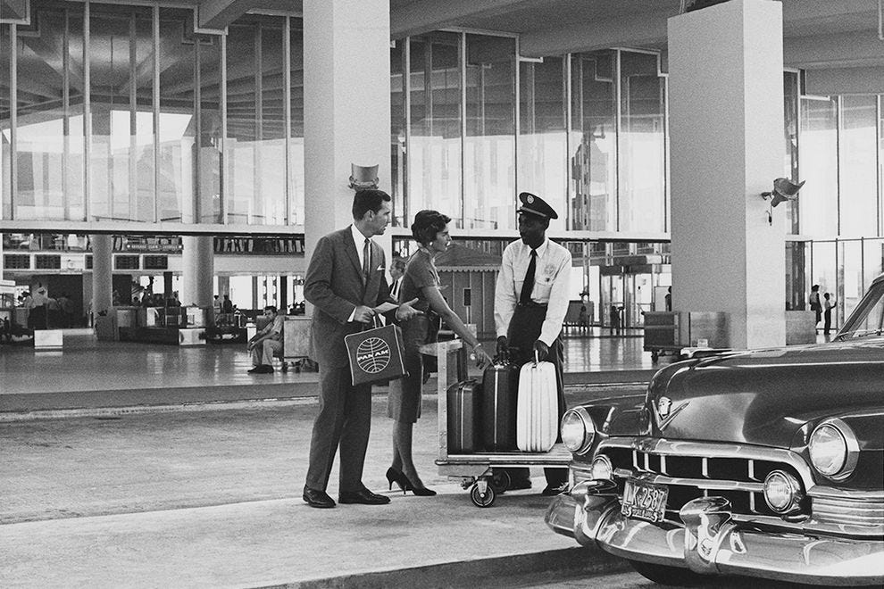 New York terminal in 1962