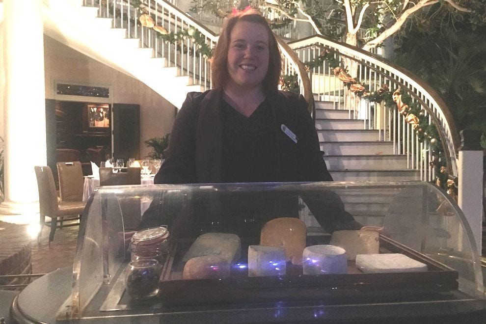 Maître fromager at Old Hickory Steakhouse at Gaylord Opryland