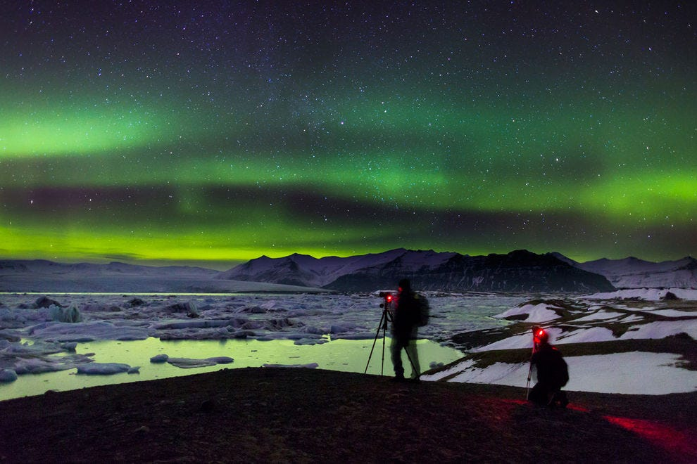 Hunting for the Northern Lights can lead to huge payoffs