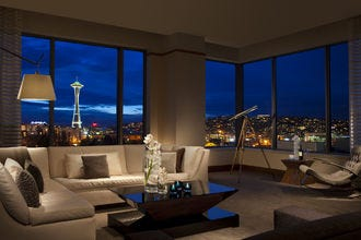 Sweet getaways: romantic hotels pamper couples during their Seattle stay