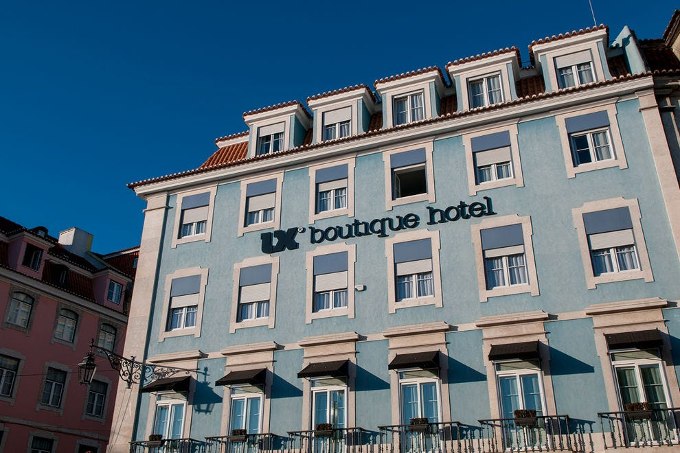 Lx Boutique Hotel Lisbon Portugal