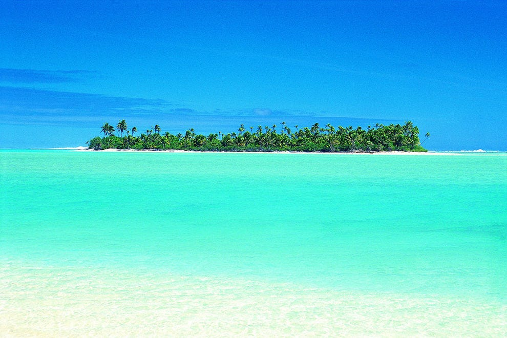 The stunning Cook Islands