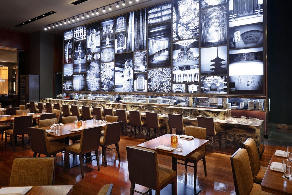 Las Vegas Japanese Sushi Food Restaurants 10best Restaurant